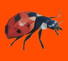 Low Poly Ladybird /  Ladybug Kids Tee