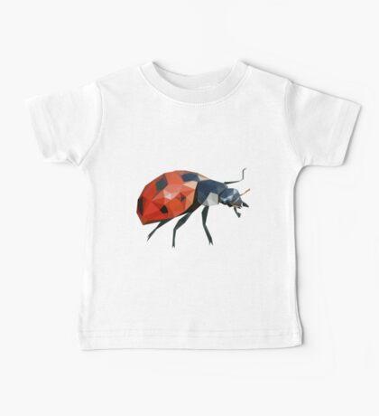 Low Poly Ladybird /  Ladybug Baby Tee