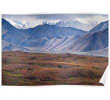 Alaska Slopes Poster
