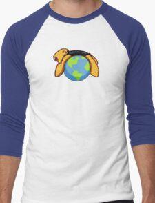 Airedale World Men's Baseball ¾ T-Shirt
