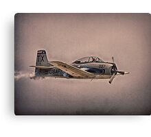 WW II Airplane Fly By Canvas Print