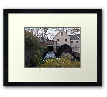 The Jenney Grist Mill Framed Print
