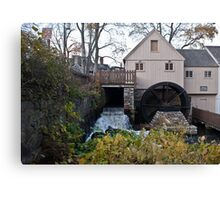 The Jenney Grist Mill Canvas Print