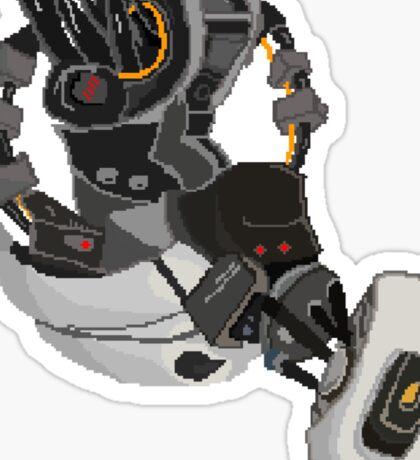 Pixel GLaDOS   Sticker