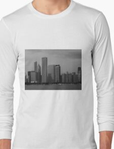 Chicago..my favorite city. Long Sleeve T-Shirt
