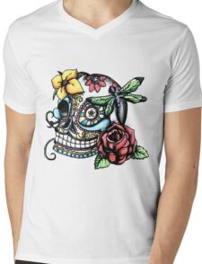 Day of the Dead Mens V-Neck T-Shirt