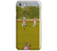 Merrow Village Bowls Club iPhone Case/Skin