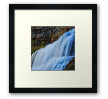 Willow River Falls 7 Framed Print