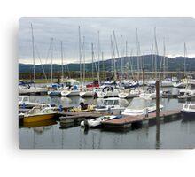 Lough Swilly Marina Metal Print
