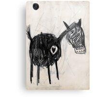 Horsey 2 Metal Print