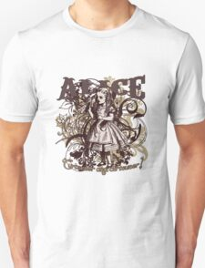 Alice In Wonderland Carnivale Style Unisex T-Shirt