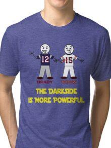 Brady Beats Tebow Tri-blend T-Shirt