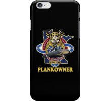 SSN-783 USS Minnesota Plank Owner Crest for Dark Colors iPhone Case/Skin
