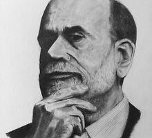 Ben Bernanke by daamsie