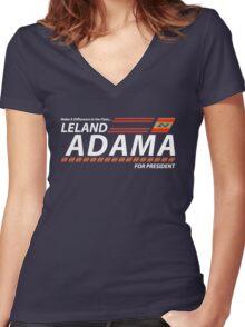 President Apollo Women's Fitted V-Neck T-Shirt