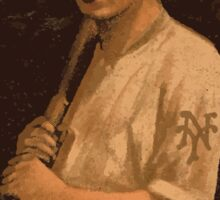 Benjamin K Edwards Collection Grover Hartley New York Giants baseball card portrait Sticker