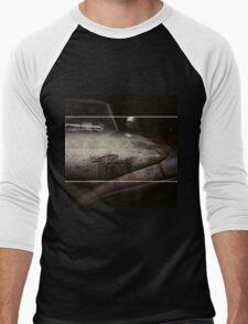 Plymouth Old Car Style Men's Baseball ¾ T-Shirt
