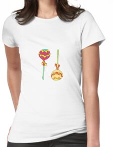tea-drinking Womens Fitted T-Shirt