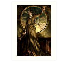Steampunk Queen of Cups Art Print