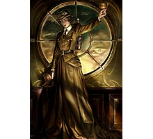 Steampunk Queen of Cups Photographic Print