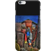 Buoys Chains And Pots iPhone Case/Skin