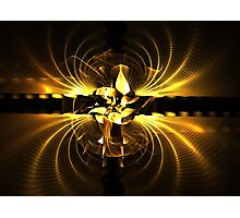 Gold Embers Photographic Print
