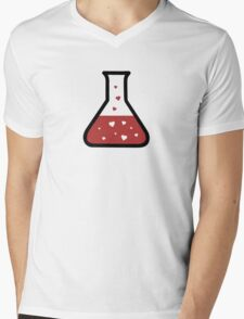 Love Potion (Science) Mens V-Neck T-Shirt