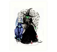 Elphaba The Wicked.  Art Print