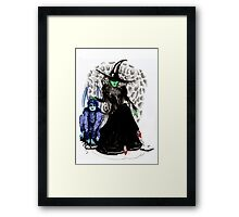 Elphaba The Wicked.  Framed Print