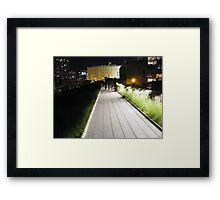 High Line, New York's Elevated Garden and Park Framed Print