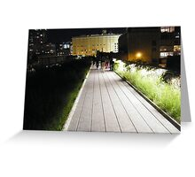 High Line, New York's Elevated Garden and Park Greeting Card