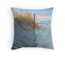 Dune Sunrise Throw Pillow