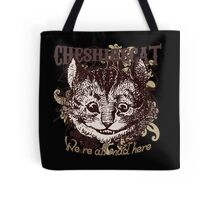 Cheshire Cat Carnivale Style Tote Bag
