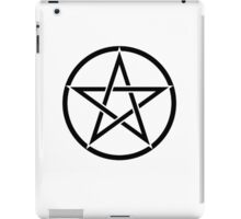 Pentacle, Pentagram, Witch, Wizard, WICCA, Modern, Pagan, Witchcraft, Religion, Cult iPad Case/Skin