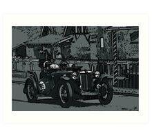 MG TC Art Print