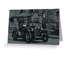MG TC Greeting Card