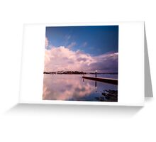A Place for Reflection - Canada Bay, NSW Greeting Card