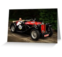 MG TC 1948 Greeting Card