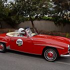 Mercedes Benz 190 SL - 1958 by Geoffrey Higges