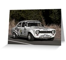 Ford Escort RS 1600 Greeting Card