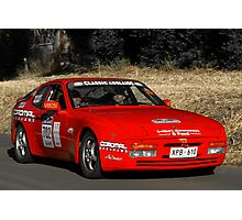 Porsche 944 Turbo Coupe Photographic Print