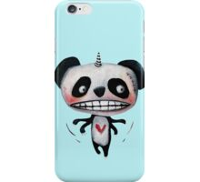 Flying Unicorn Panda by Jacqueline Myers-Cho iPhone Case/Skin