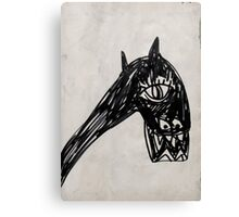 Horsey 1 Canvas Print
