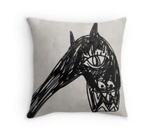 Horsey 1 Throw Pillow