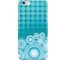 Concentrics - Aqua [iPhone/iPod case] iPhone Case/Skin
