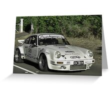 Porsche Carrera RS - 1974 Greeting Card