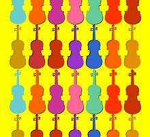 Violin Colors #3 by rontrickett