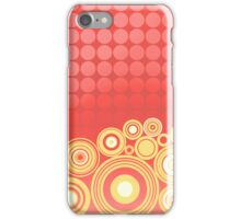 Concentrics - Red|Orange [iPhone/iPod case] iPhone Case/Skin