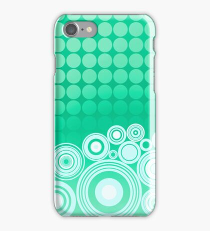 Concentrics - Mint [iPhone/iPod case] iPhone Case/Skin