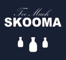 Too Much Skooma (White) One Piece - Long Sleeve
